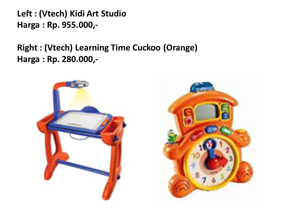 Left : (Vtech) Kidi Art Studio Harga : Rp. 955
