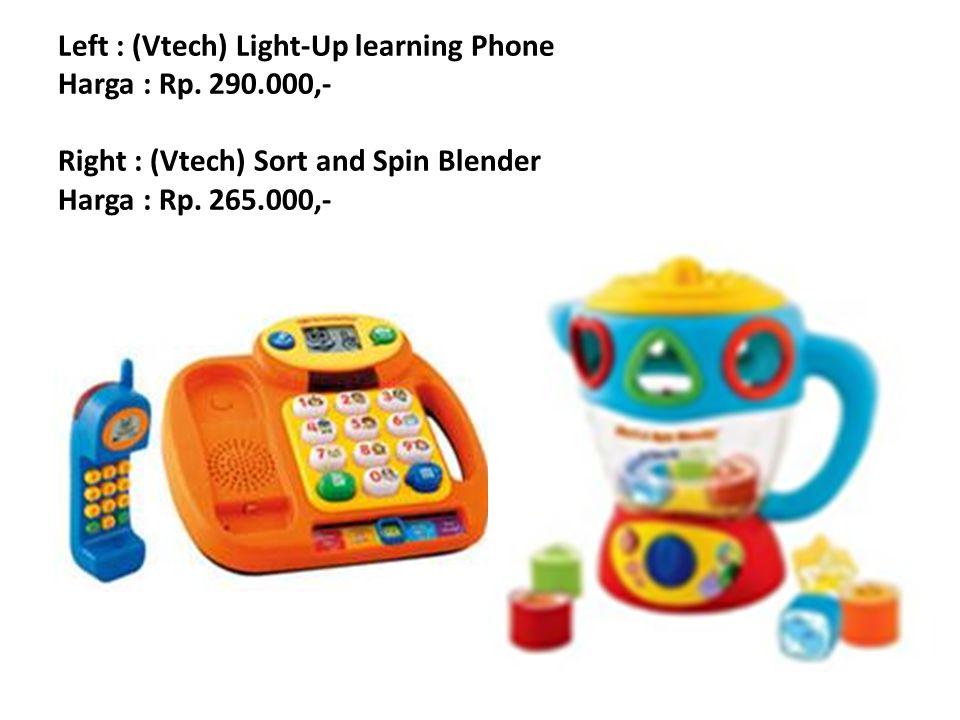 Left : (Vtech) Light-Up learning Phone Harga : Rp. 290