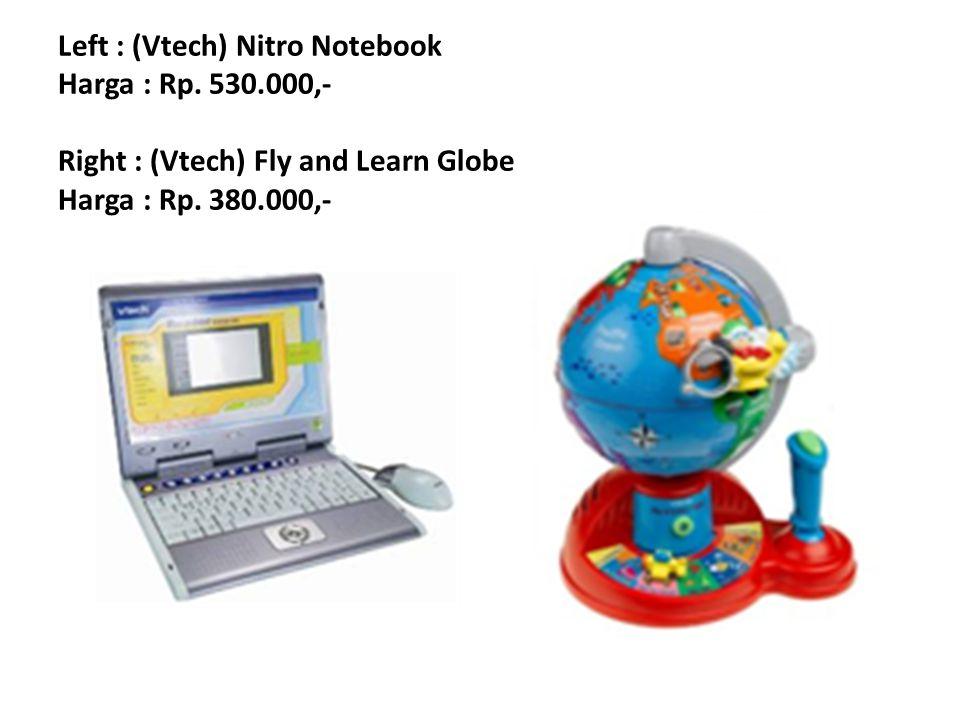 Left : (Vtech) Nitro Notebook Harga : Rp. 530