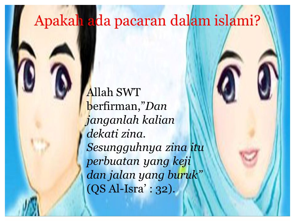 Apakah ada pacaran dalam islami