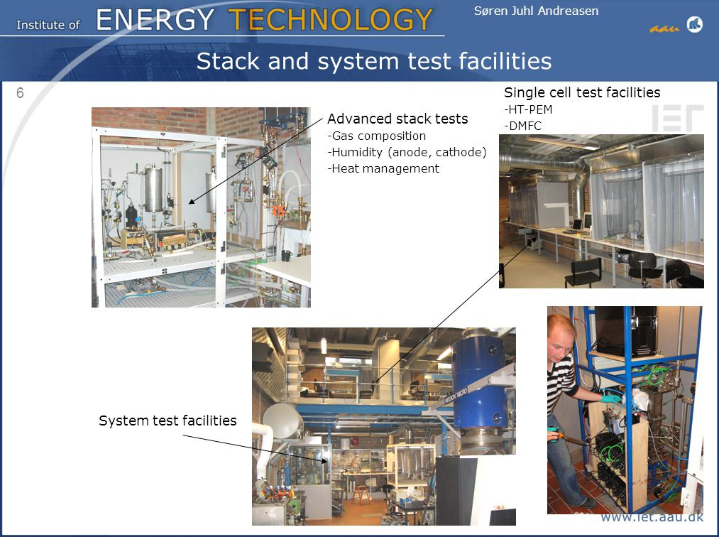 Stack and system test facilities