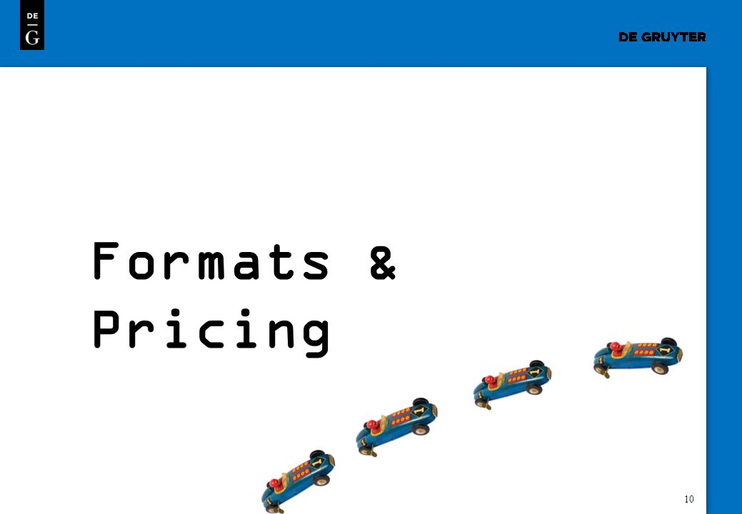 Formats & Pricing