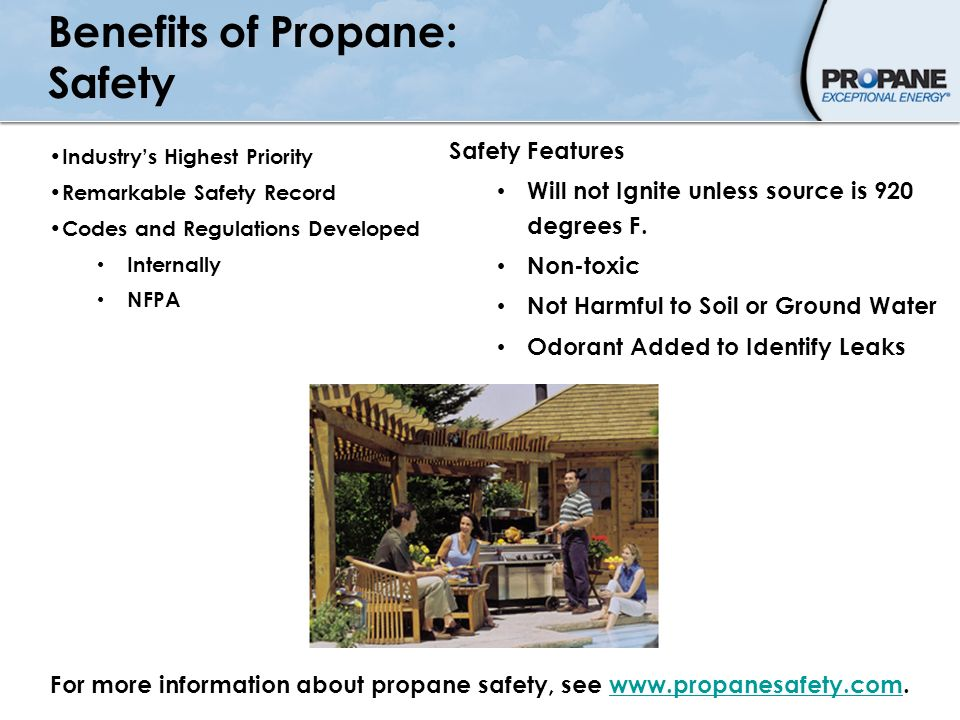 Benefits of Propane: Safety