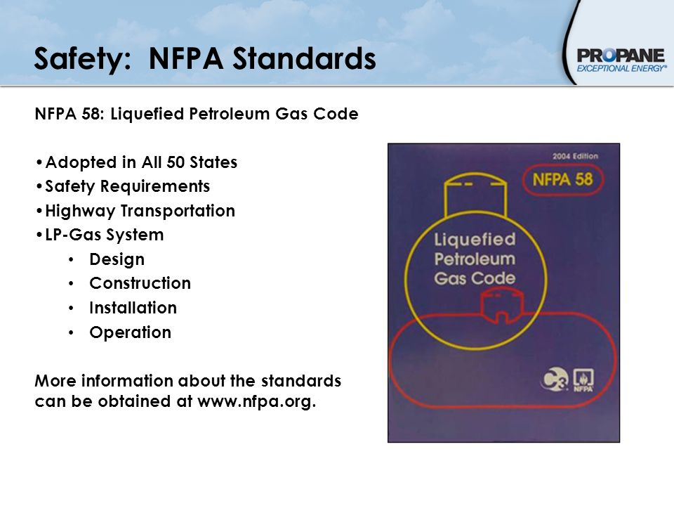 Safety: NFPA Standards