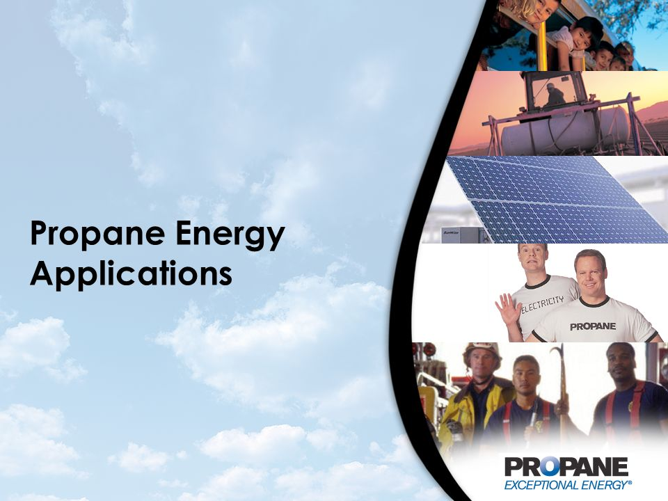 Propane Energy Applications