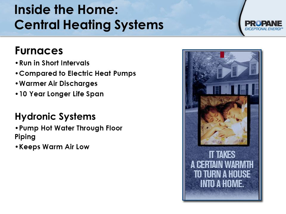 Inside the Home: Central Heating Systems