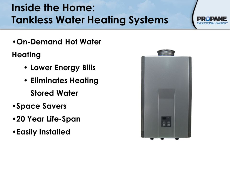 Inside the Home: Tankless Water Heating Systems