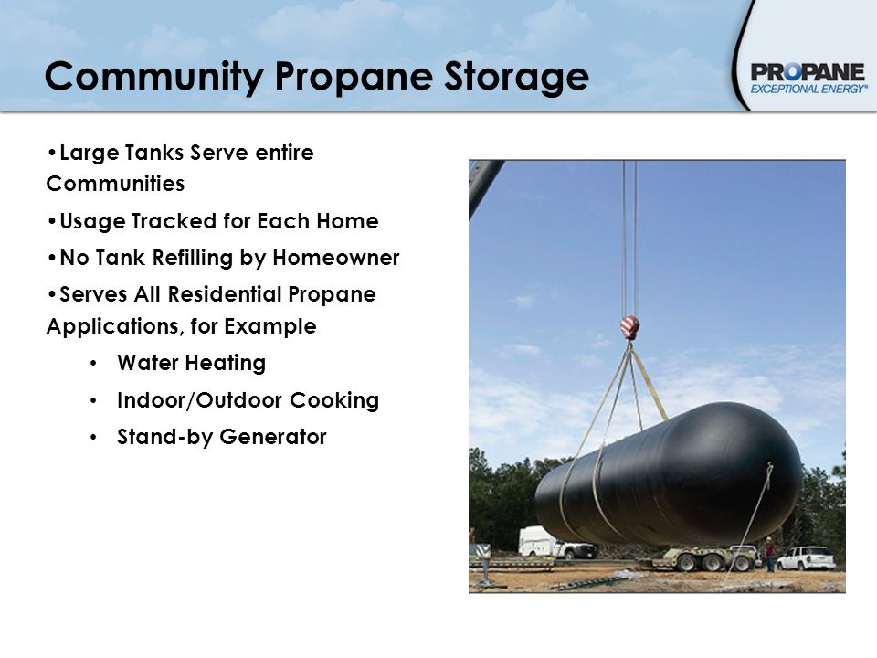Community Propane Storage