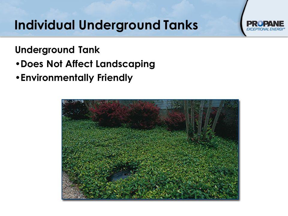 Individual Underground Tanks