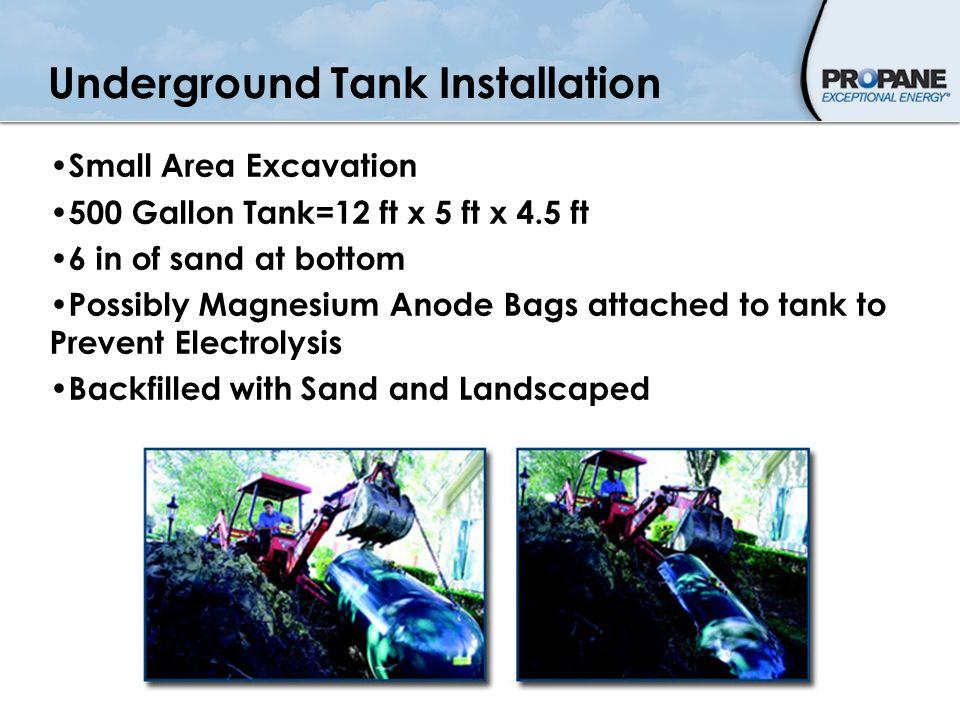 Underground Tank Installation