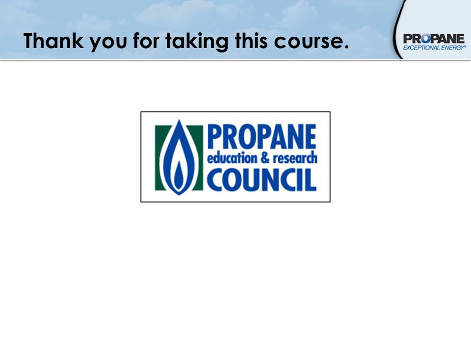Thank you for taking this course.
