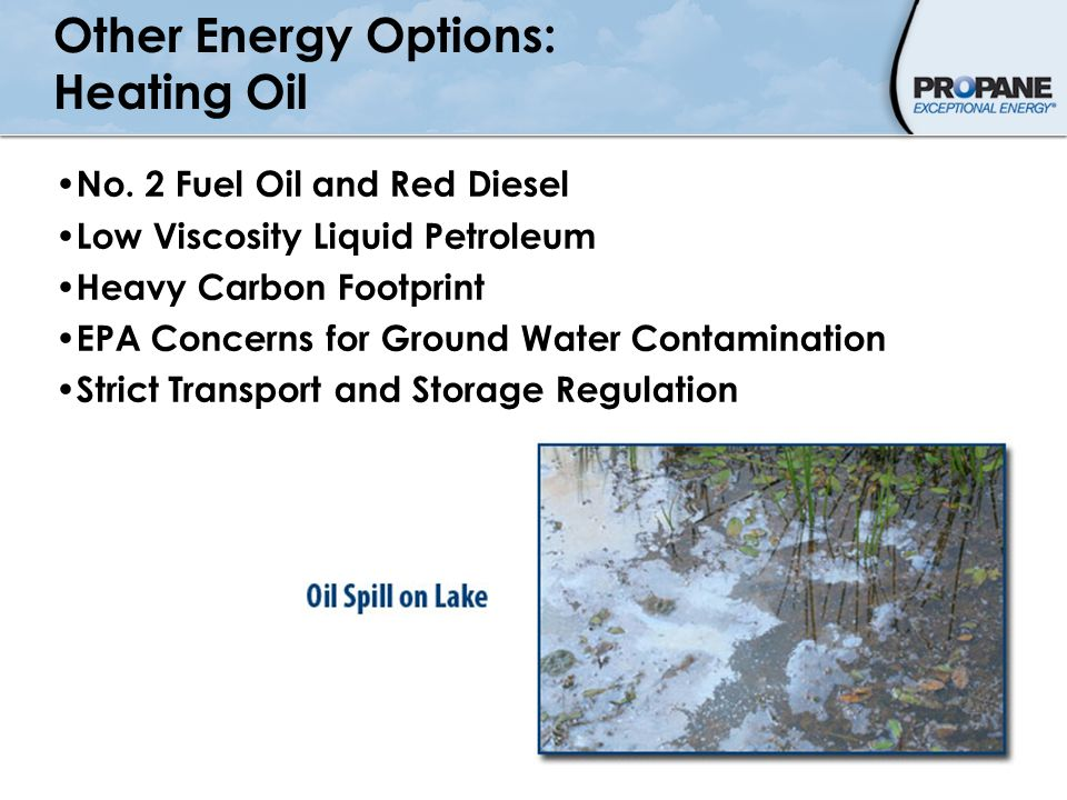 Other Energy Options: Heating Oil