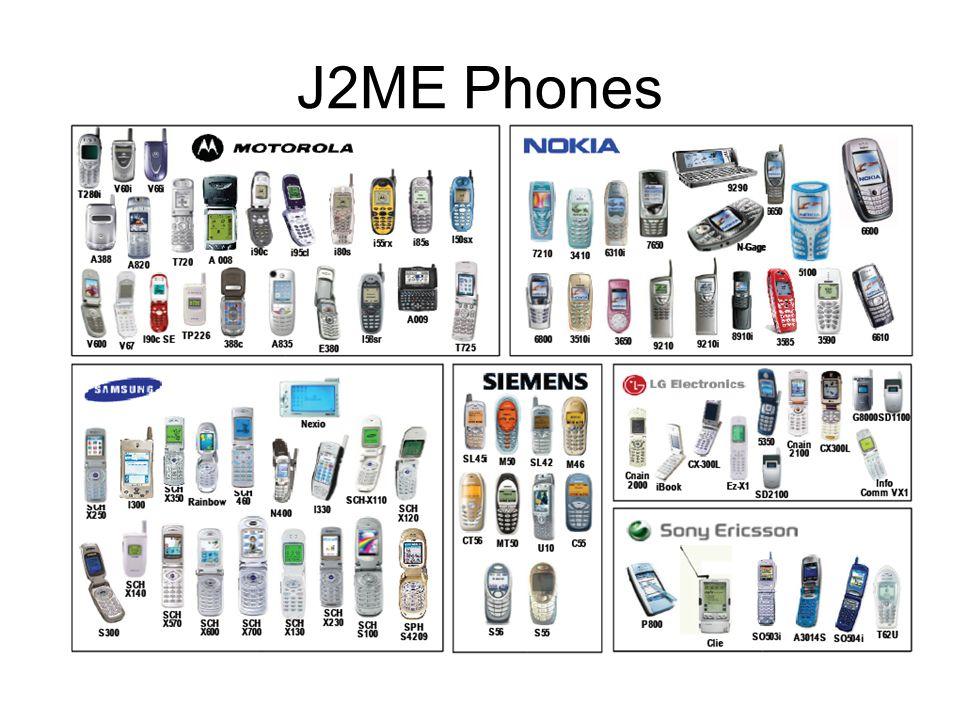 J2ME Phones