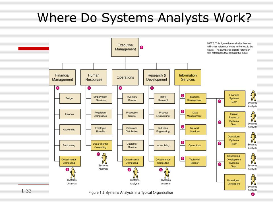 Where Do Systems Analysts Work