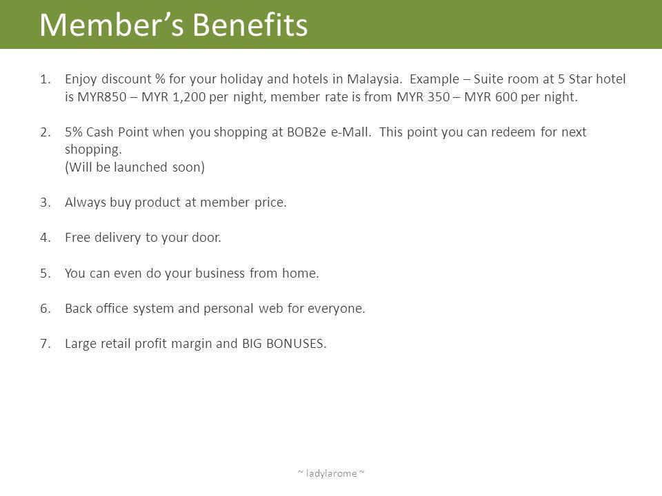 Member's Benefits