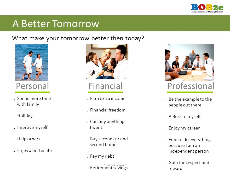 A Better Tomorrow Personal Financial Professional