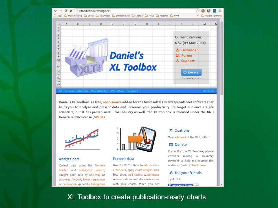 XL Toolbox to create publication-ready charts