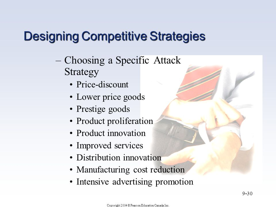 Designing Competitive Strategies
