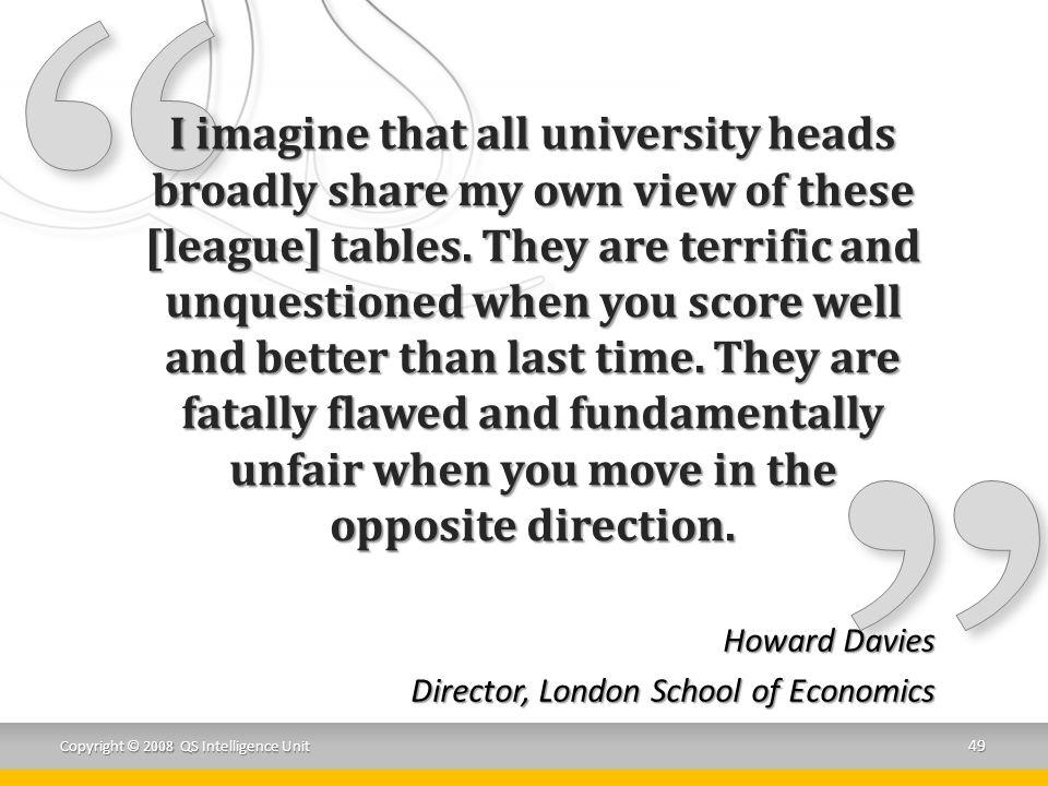 Howard Davies Director, London School of Economics