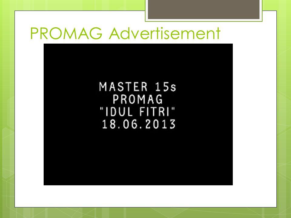 PROMAG Advertisement
