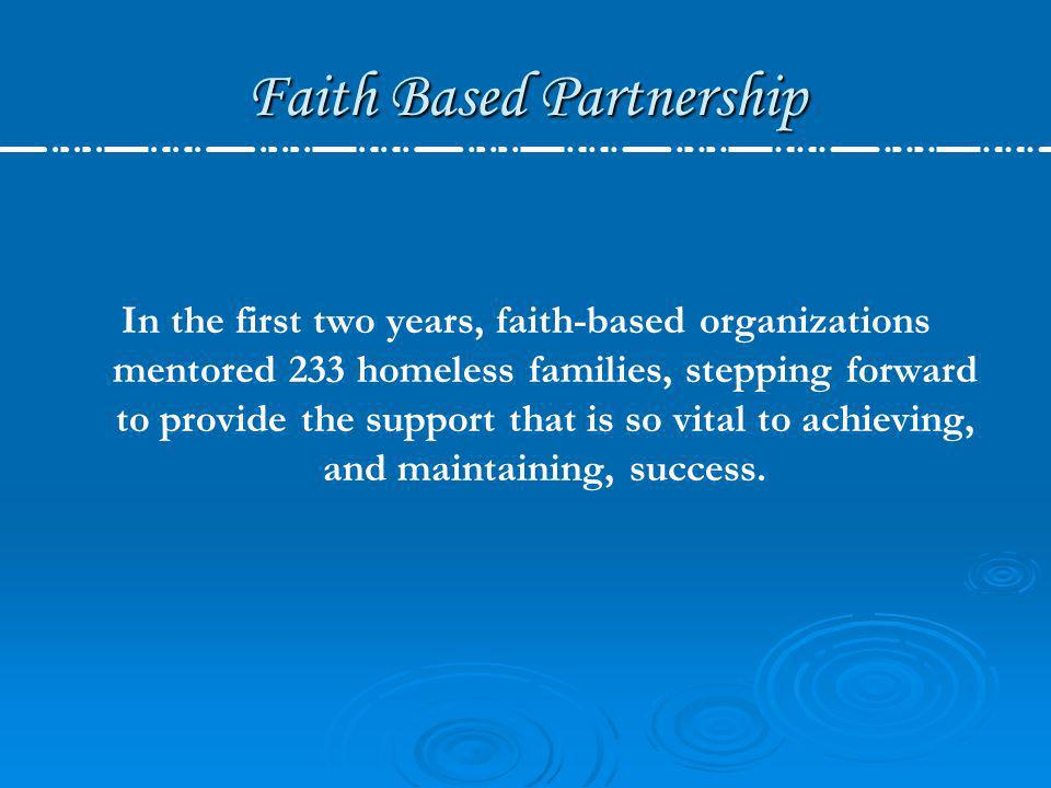 Faith Based Partnership