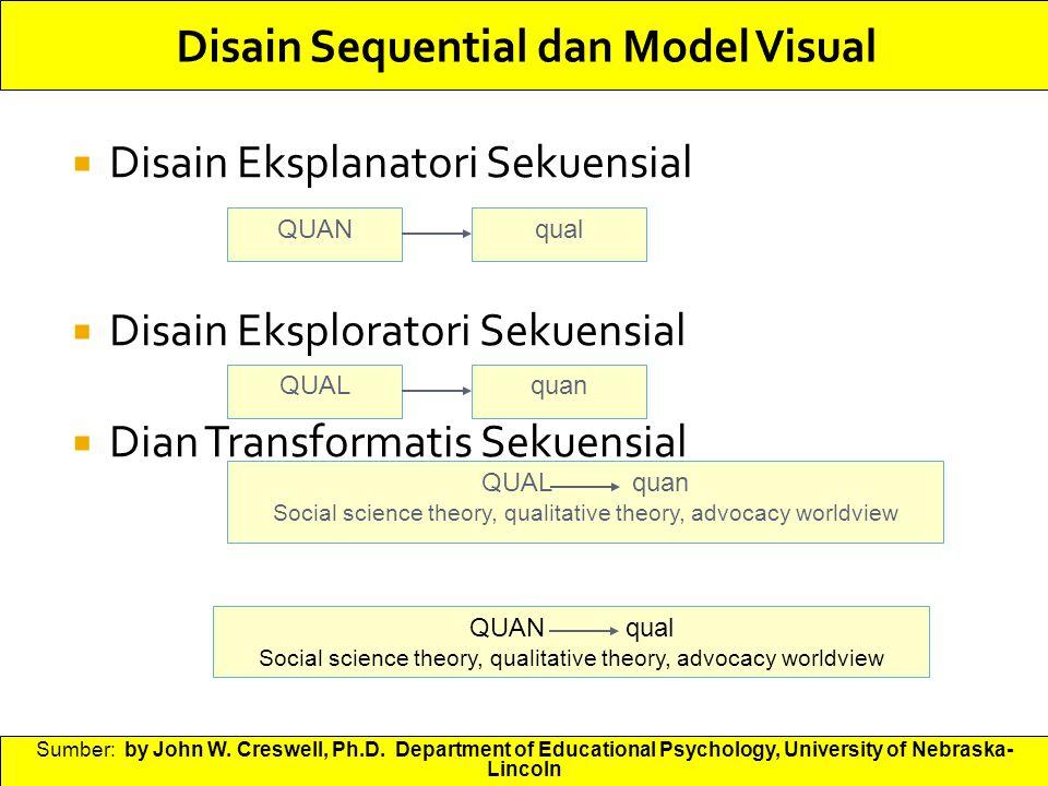 Disain Sequential dan Model Visual