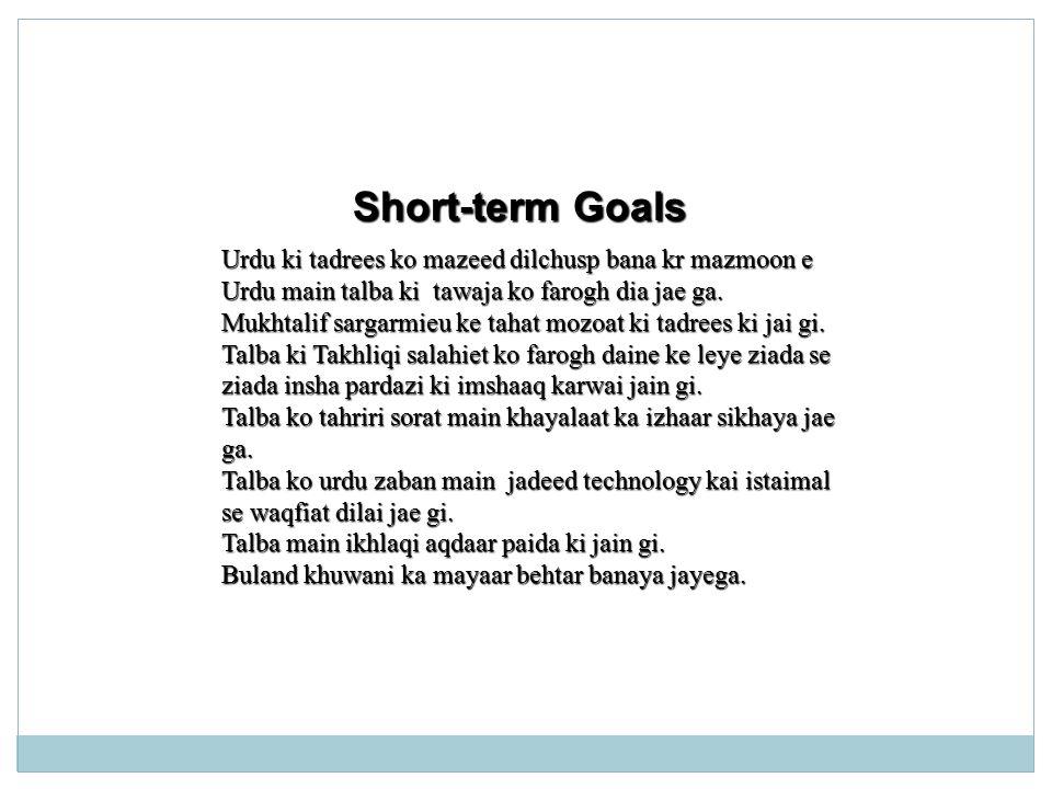 Action Plan Miss Anum Arshad The City School Gulshan Jr D Ppt