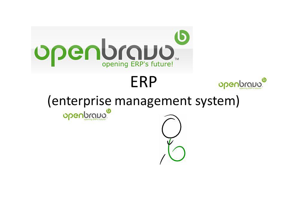 ERP (enterprise management system)