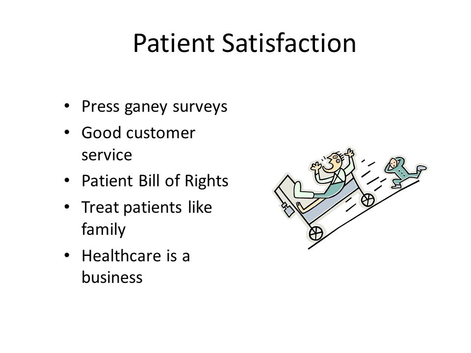 Patient Satisfaction Press ganey surveys Good customer service
