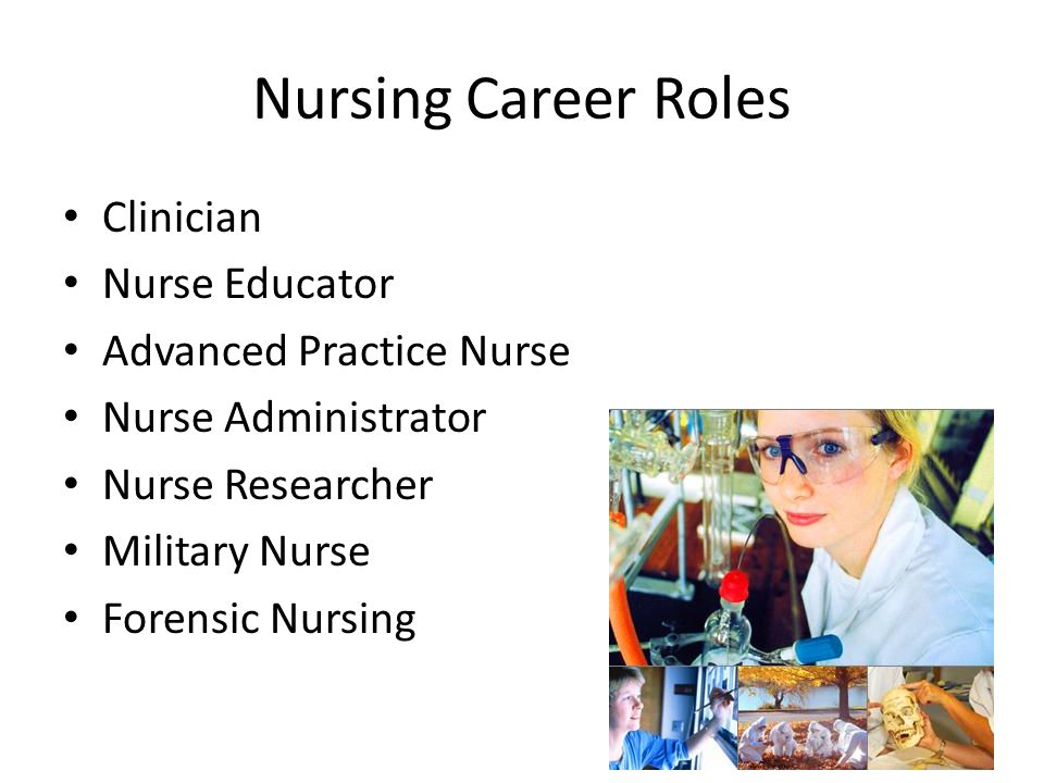 Nursing Career Roles Clinician Nurse Educator Advanced Practice Nurse
