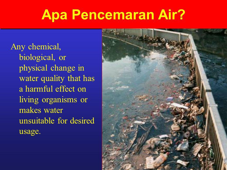 Apa Pencemaran Air