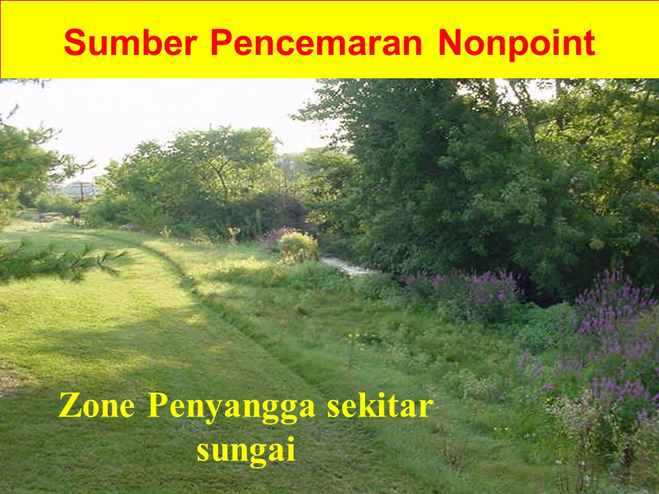 Sumber Pencemaran Nonpoint