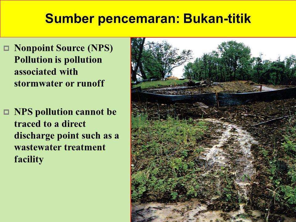 Sumber pencemaran: Bukan-titik