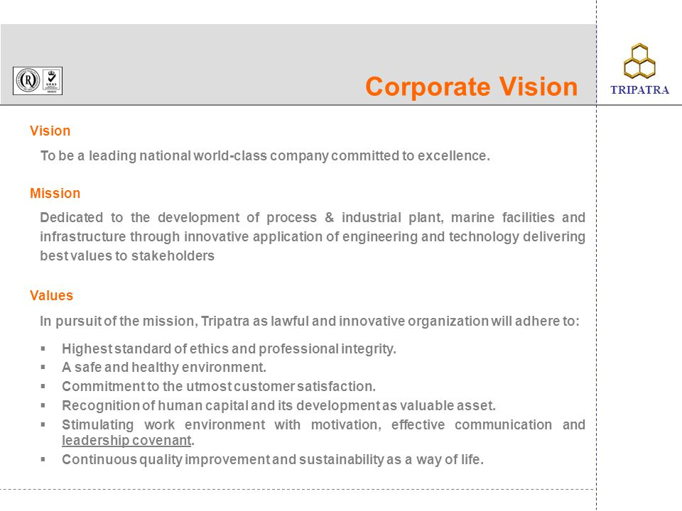 Corporate Vision Vision