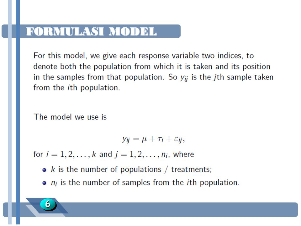 FORMULASI MODEL 6