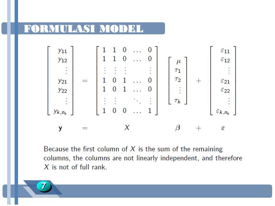 FORMULASI MODEL 7