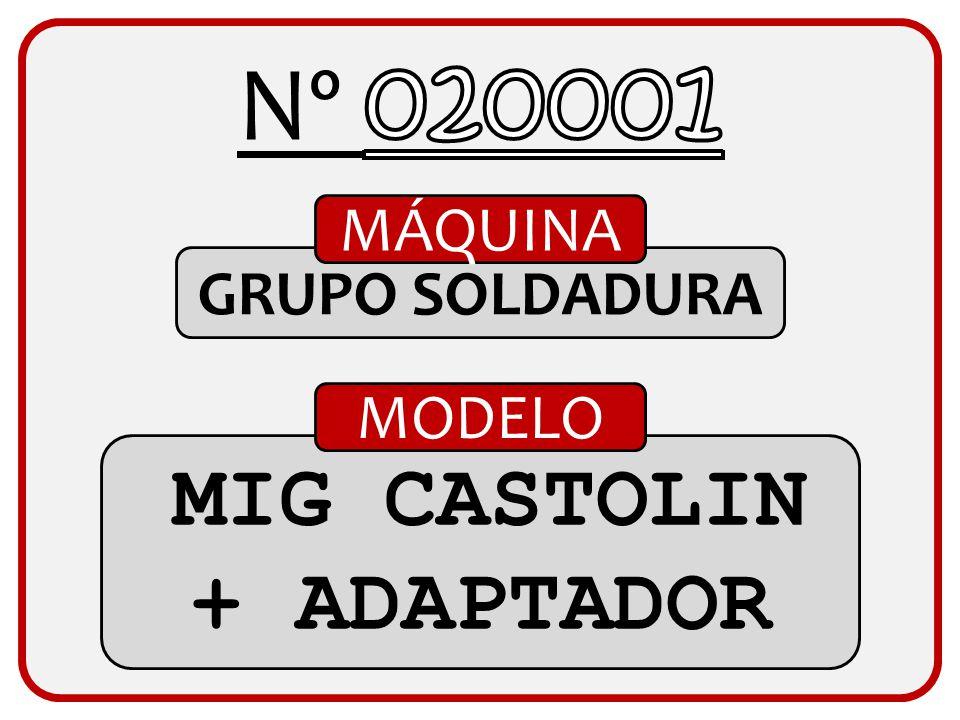 MIG CASTOLIN + ADAPTADOR