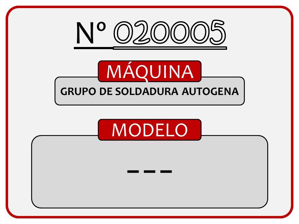 GRUPO DE SOLDADURA AUTOGENA