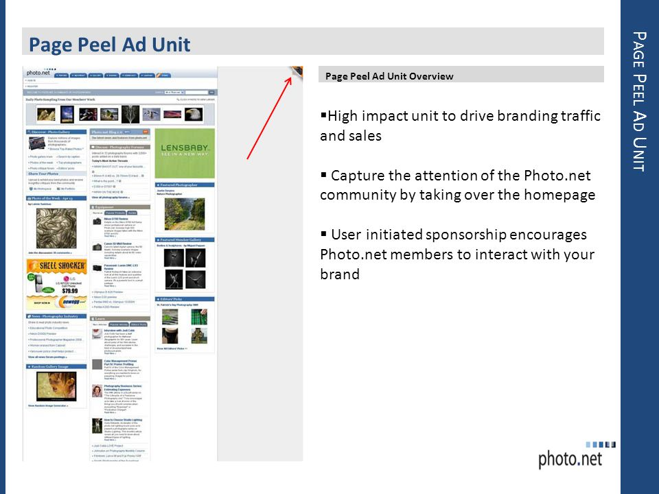 Page Peel Ad Unit Page Peel Ad Unit