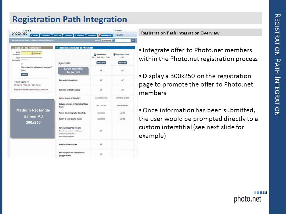 Registration Path Integration