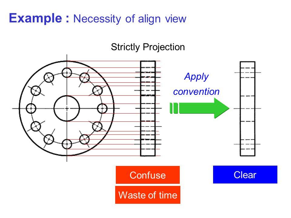 Example : Necessity of align view