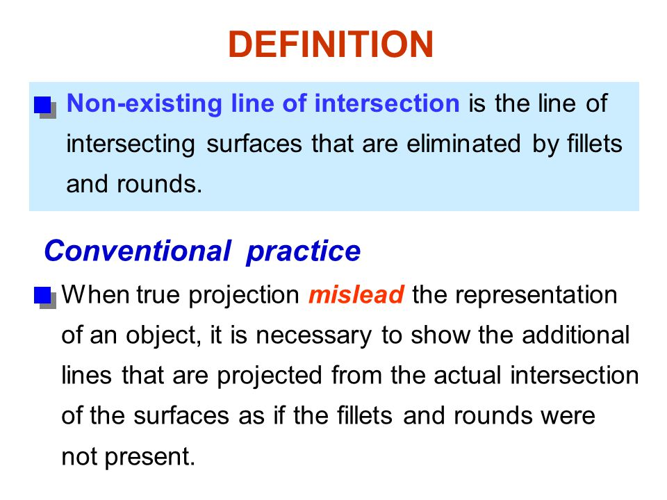 DEFINITION Conventional practice
