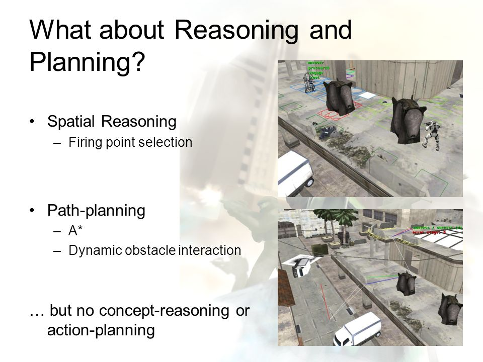 What about Reasoning and Planning