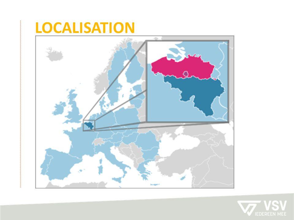 localisation Flanders: northern region of Belgium