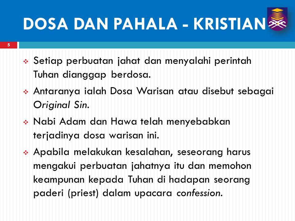 DOSA DAN PAHALA - KRISTIAN