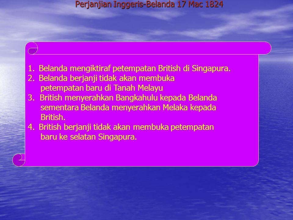 Perjanjian Inggeris-Belanda 17 Mac 1824
