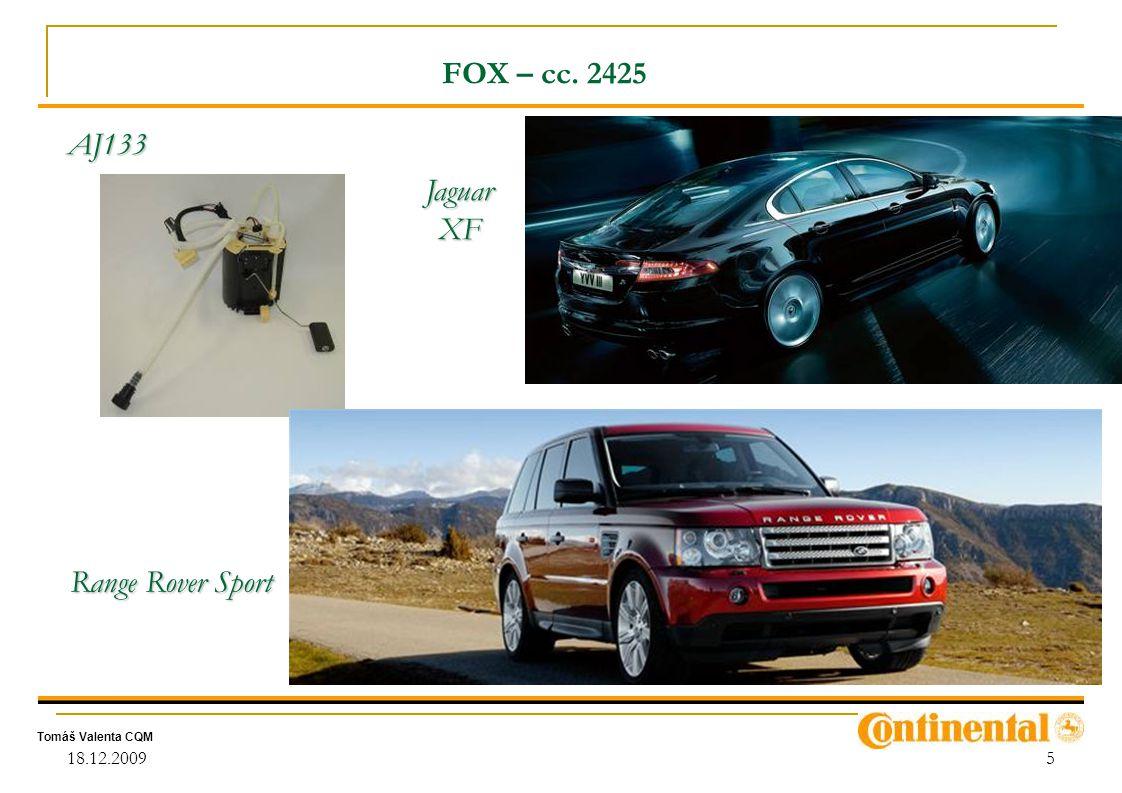 FOX – cc. 2425 Jaguar XF Range Rover Sport AJ133 18.12.2009