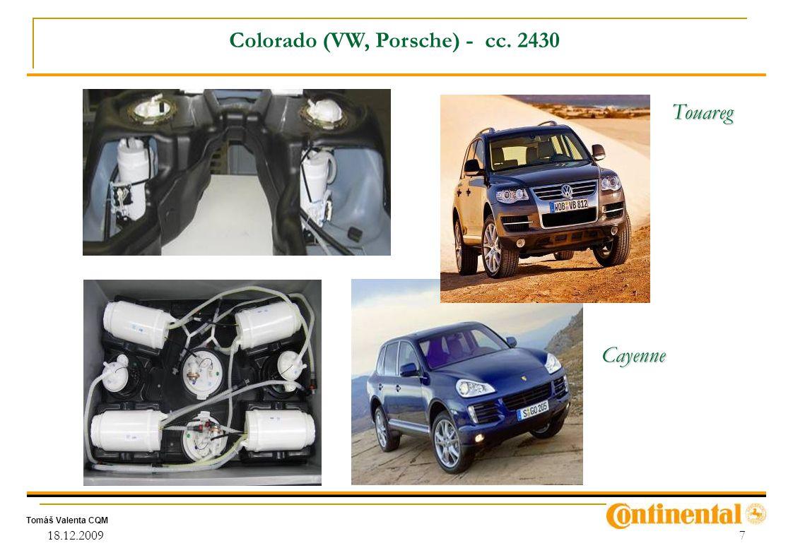 Colorado (VW, Porsche) - cc. 2430