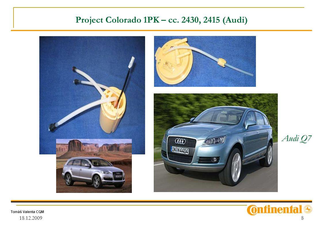 Project Colorado 1PK – cc. 2430, 2415 (Audi)