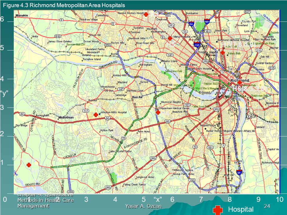 Figure 4.3 Richmond Metropolitan Area Hospitals